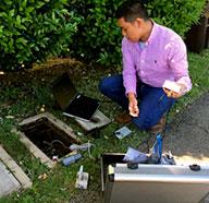installing a water meter