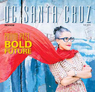 u c santa cruz review magazine cover proud past, bold future