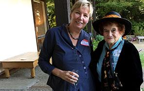 Marieke Rothschild (left) and Miriam Ellis (right)