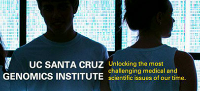 UC Santa Cruz Genomics Institute, unlocking the most challenging medical and scientific issues of our time