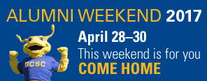 Alumni Weekend 2017, April 28–30, this weekend is for you, come home