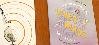 Other Minds festival booklets