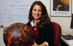 Natalie Batalha (Ph.D. astrophysics) is one of the world's foremost planet hunters. (Photo courtesy NASA Ames Research Center)