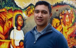 Mauricio Ramírez is an artist, a muralist, and a native San Franciscan who is fascinated by the Mission's murals.