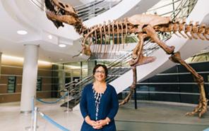 Lisa White (Ph.D. '90, Earth sciences)